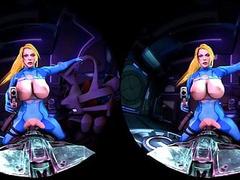 Samus Cowgirl Put Up A Fight - VR porn Video