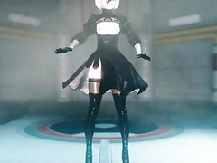 I want 2B (in her butt)