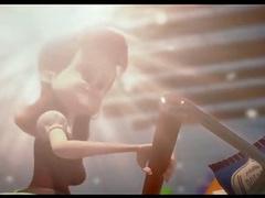 Milf In CG Movie