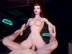 Whore servicing / Brigitte from Overwatch