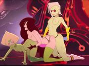 Cartoon lesbians want some love