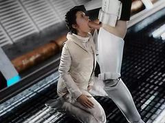 Leia Blowjob / Princess Leia from Star Wars