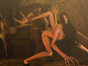Horror porn movie / The Evil Within