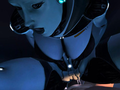 Naughty nymphos from Mass Effect