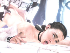 Sexual punishment - Rey from Star Wars