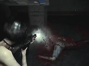 Resident Evil 2, Ada Wong, full nude, part 1