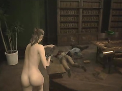Resident Evil 2, Claire Redfield, full nude, part 3