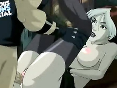Nasty Rogue gets her anal punishment