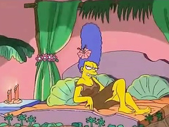 Marge Simpsons loves really huge chodes