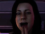 Shepard and Miranda from mass effect