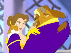 Belle from Beauty and the Beast getting drilled