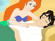 Ariel Mermaid gets some hard cock action