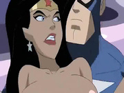 Captain America and Wonder Woman fucking