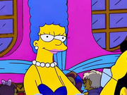 Marge Simpson on a sex adventure after party