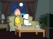 Dirty slut from Family Guy hunts cock