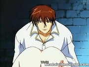 Nipple play and hot fuck in anime bdsm