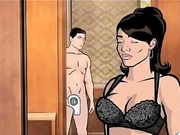 Archer and Lana Porn Video