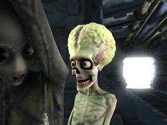 Dirty alien lookers enjoy having their orgasmic cunts pleasured