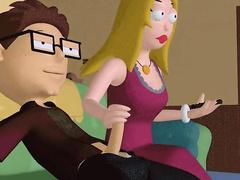 Shot animation - american dad porn