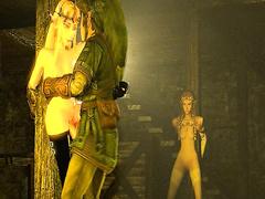 Princess Zelda porn from The Legend of Zelda, assembly 2017, part 1
