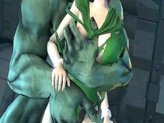 Princess Zelda porn from The Legend of Zelda, assembly 2017, part 7