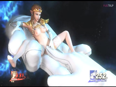 Princess Zelda porn from The Legend of Zelda, assembly 2017, part 9