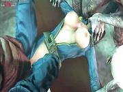 Elizabeth porn from BioShock Infinite (Student), assembly 2017, part 7