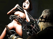 Elizabeth porn from BioShock Infinite (Bobcut), assembly 2017, part 6
