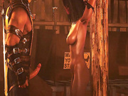 Secrets of the BDSM dungeon - Mileena from Mortal Kombat part 1