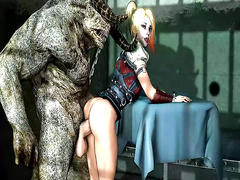 Human and monster / Harley Quinn, compilation part 2