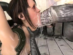 BTQ 2 1080p - Breaking the quiet 2 - Final Update version with sound! (Lara Croft by animepron) part 1