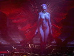 Wild BDSM love / Kunoichi 3: Dark Butterfly / part 6