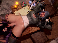 Witch training by BlackSheep Ovca, magic porn