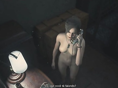 Resident Evil 2, Claire Redfield, full nude, part 7