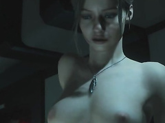 Resident Evil 2, Claire Redfield, full nude, part 9