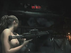 Resident Evil 2, Claire Redfield, full nude, part 11 (end)