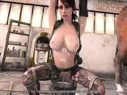 BTQ 3 1080p - Breaking the quiet 3 - Full version with sound! (Lara Croft by animepron) part 3