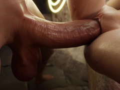 Shemale hotties addicted to hard sex - Wonder Woman and Power Girl by Nyl part 1