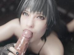 Lady Tongue Bath by Bulging Senpai