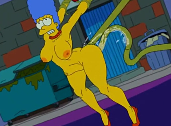 Marge simpson big boobs sexy dominatrix Marge Simpson And Alien S Simpsons By Nstat