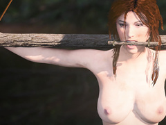 Lara x Chiyo tied femdom